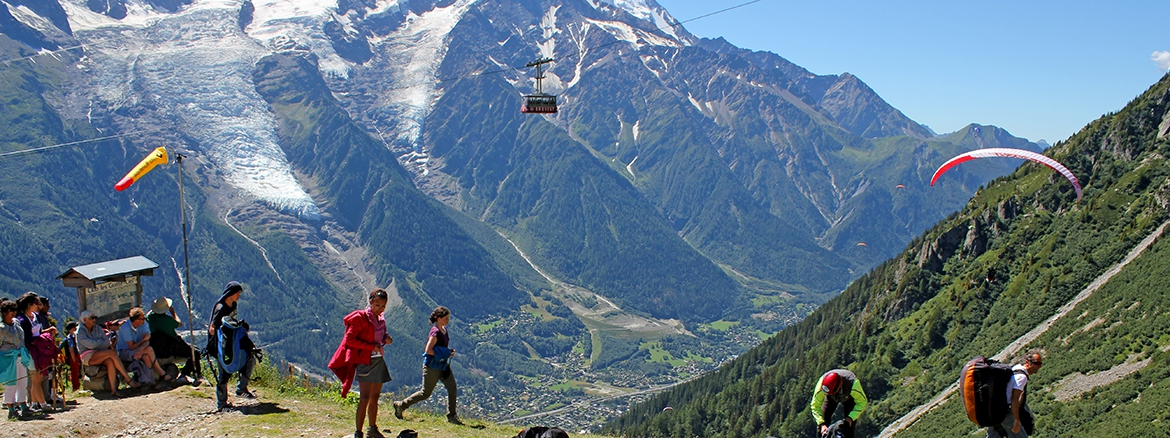 photo Parapente Chamonix